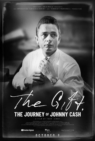 Johnny Cash - The Gift - A4 Music Mini Print
