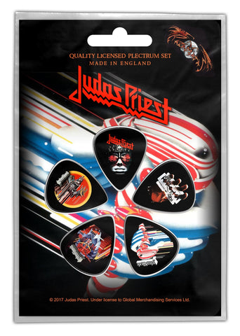 Judas Priest - Turbo - Plectrum Pack