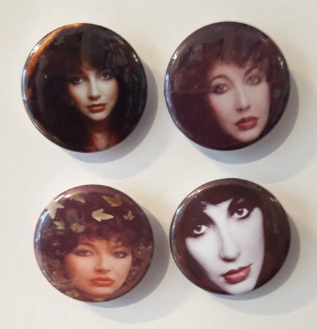 Kate Bush - Set of 4 Badges