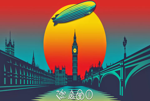 Led Zeppelin - Celebration Day - A4 Mini Print B
