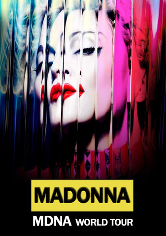 Madonna - MDNA Tour - A4 Music Mini Print B
