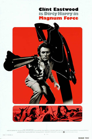 Magnum Force - Clint Eastwood - A4 Movie Mini Print