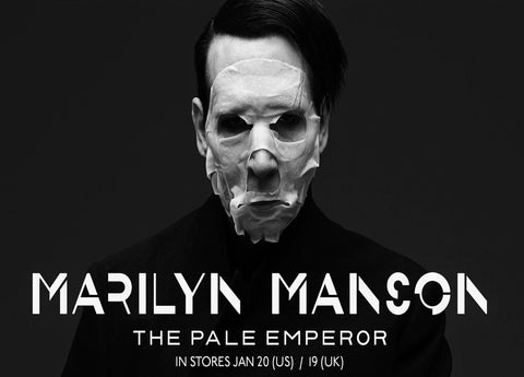 Marilyn Manson - The Pale Emperor - A4 Music Mini Print