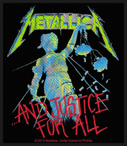 Metallica - And Justice For All - Patch
