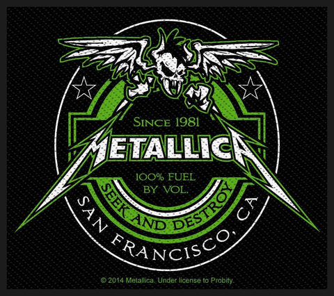 Metallica - Beer Label - Patch