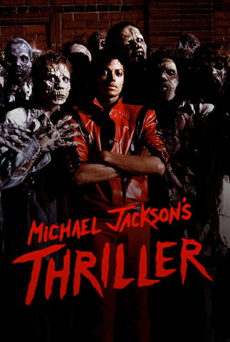 Michael Jackson's Thriller - A4 Music Mini Print