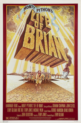 Monty Python's Life of Brian - A4 Movie Mini Print A