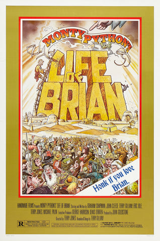 Monty Python's Life of Brian - A4 Movie Mini Print B