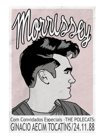 Morrissey - Tocatins 88- A4 Music Mini Print