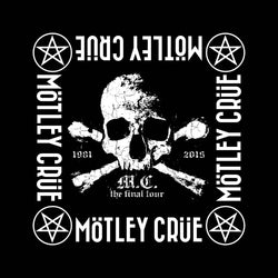 Motley Crue - The Final Tour - Bandana