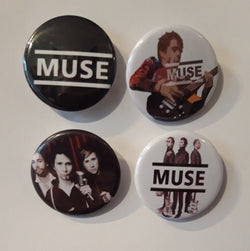 Muse - Set of 4 Badges