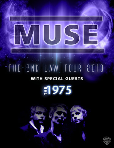 Muse - The 2nd Law Tour 2013 - A4 Mini Print