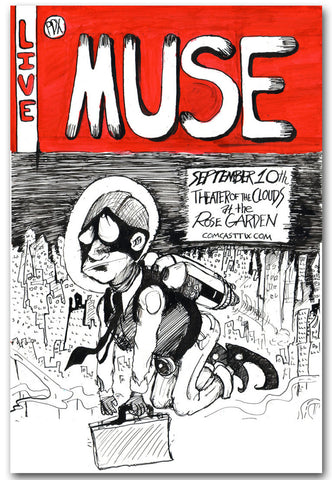 Muse - Theatre of the Clouds - A4 Music Mini Print