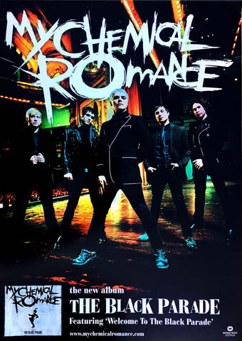 My Chemical Romance - Promo - A4 Music Mini Print