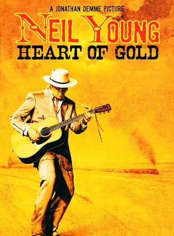 Neil Young - Heart of Gold - A4 Music Mini Print B