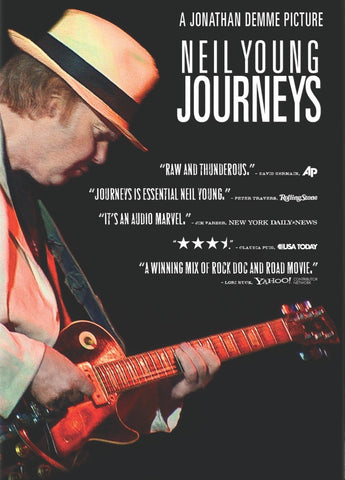 Neil Young - Journeys - A4 Music Mini Print B