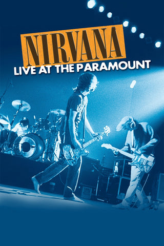 Nirvana - Live at the Paramount - A4 Music Mini Print