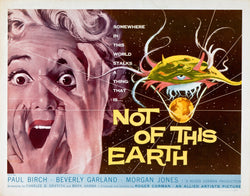 Not of this earth - B Movie Poster