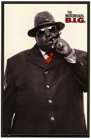 Notorious B.I.G. - Movie - A4 Music Mini Print