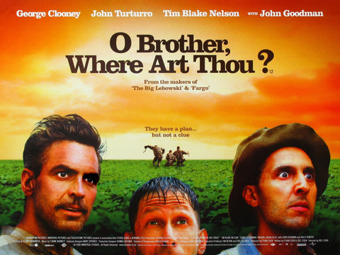 O Brother Where Art Thou - A4 Movie Mini Print B