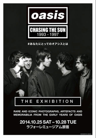 Oasis - Chasing the Sun 1993 - 97 - Japanese - A4 Music Mini Print
