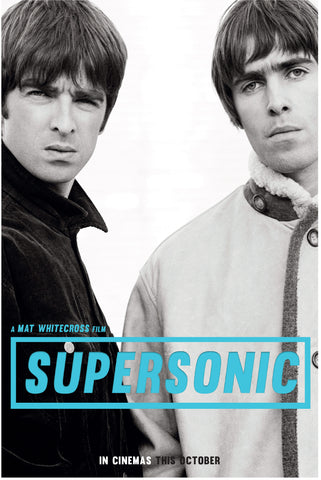Oasis - Supersonic - A4 Music Mini Print A