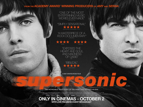 Oasis - Supersonic - A4 Music Mini Print C