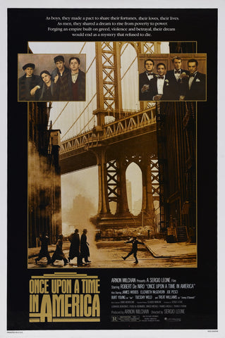 Once Upon A Time in America - A4 Movie Mini Print