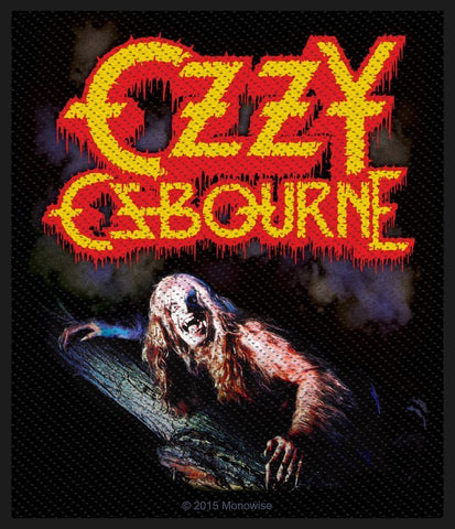 Ozzy Osbourne - Bark At The Moon - Patch