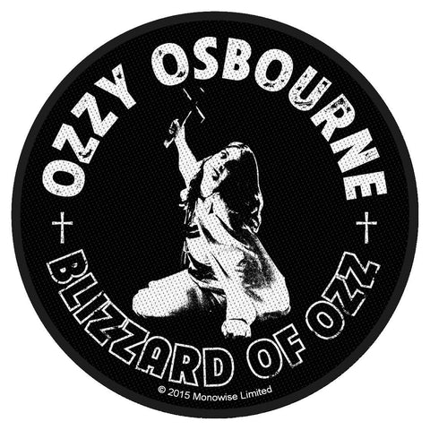Ozzy Osbourne - Blizzard of Ozz - Circular Patch