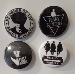 Peaky Blinders - Set of 4 Badges