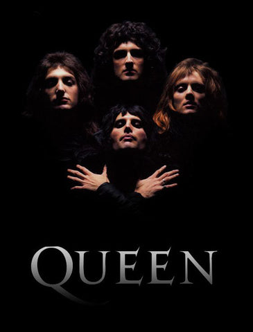 Queen - Bohemian Rhapsody - A4 Music Mini Print