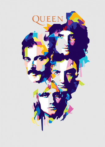 Queen - Queen - A4 Music Mini Print