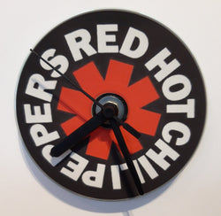 Red Hot Chili Peppers - Logo - Cd Clock