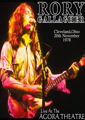 Rory Gallagher - Ohio 1978 - A4 Mini Print