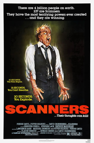 Scanners - A4 Movie Mini Print
