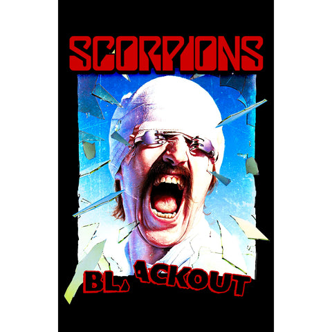 Scorpions - Blackout - Textile Flag