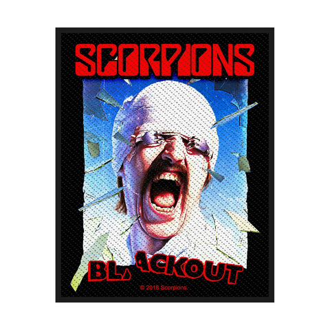 Scorpions - Blackout - Woven Patch