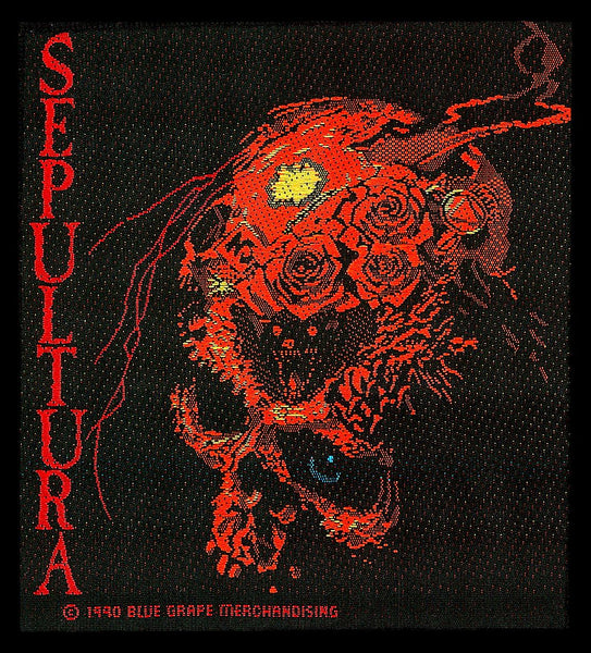 Sepultura - Beneath The Remains - Patch