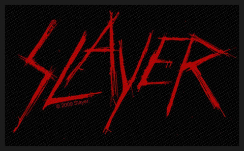Slayer - Scratched Logo - Patch