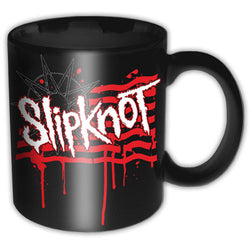 Slipknot - Dripping Flag & Logo - Mug