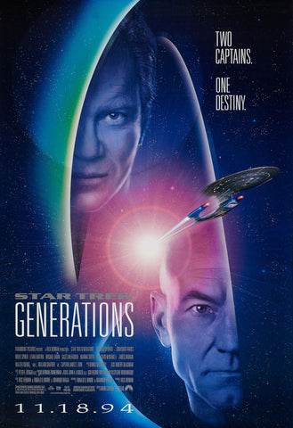 Star Trek - Generations - A4 Movie Mini Print