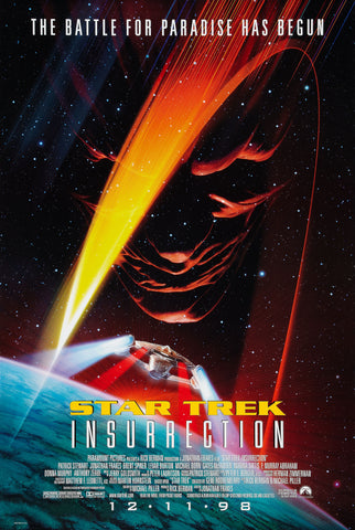 Star Trek - Insurrection - A4 Movie Mini Print