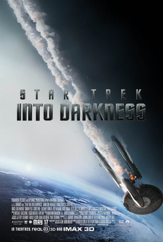 Star Trek - Into Darkness - A4 Movie Mini Print C
