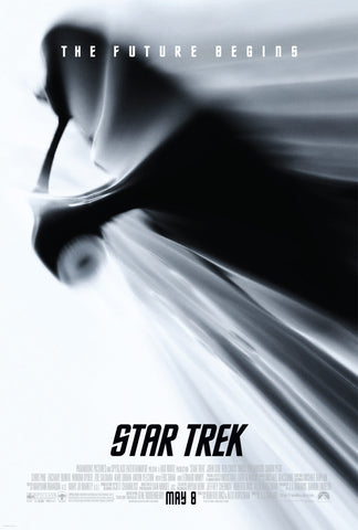Star Trek - The Future Begins - A4 Movie Mini Print B