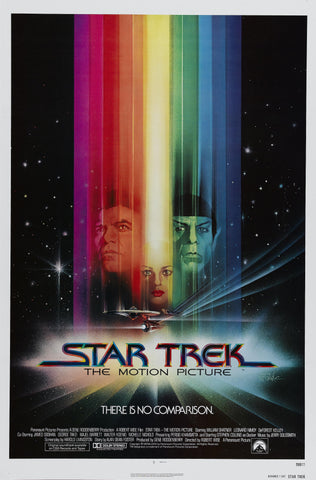 Star Trek - The Motion Picture - A4 Movie Mini Print