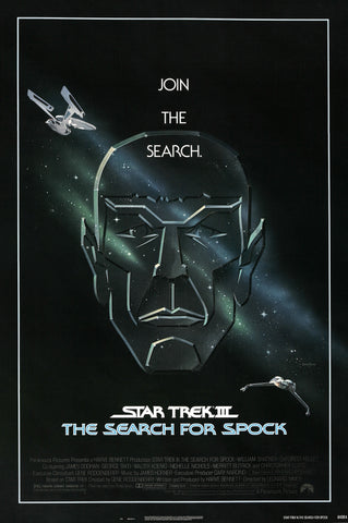 Star Trek - The Search for Spock - A4 Movie Mini Print