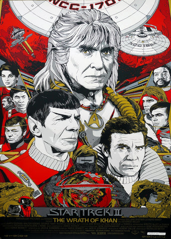 Star Trek - The Wrath of Khan - A4 Movie Mini Print C