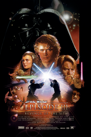Star Wars - Episode III - Revenge of the Sith - A4 Movie Mini Print