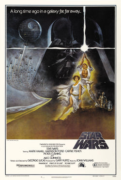 Star Wars - Episode IV - A New Hope - A4 Movie Mini Print D